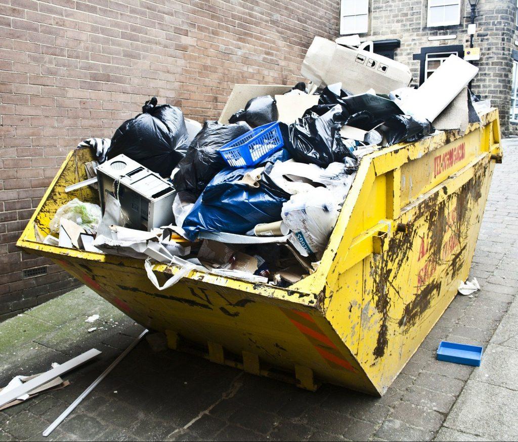 Müllcontainer Entrümpelung